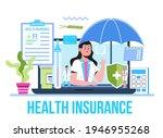 healthcare insurance vector... | Shutterstock .eps vector #1946955268