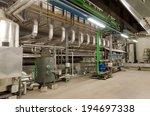 industrial interior of old heat ... | Shutterstock . vector #194697338