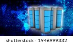 3d rendering electrical energy... | Shutterstock . vector #1946999332