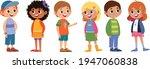 children schoolchildren vector... | Shutterstock .eps vector #1947060838