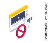 isometric vector illustration... | Shutterstock .eps vector #1947071038