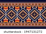 geometric ethnic oriental ikat... | Shutterstock .eps vector #1947131272