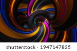 An Abstract Multi Colored Array ...