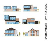 house collection. modern... | Shutterstock .eps vector #1947159022