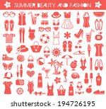 big set of vector icons for... | Shutterstock .eps vector #194726195