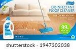 ad banner template of bleach or ... | Shutterstock . vector #1947302038