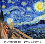 The Scream At The Starry Night. ...
