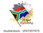 translation  april 27. freedom...   Shutterstock .eps vector #1947357475