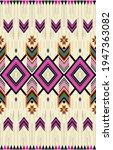 fabric morocco  geometric...   Shutterstock .eps vector #1947363082