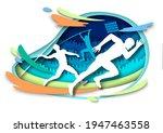 Athletics Sport Events. Athlete ...