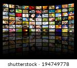 lcd tv panels. television... | Shutterstock . vector #194749778