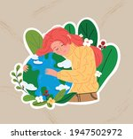 we love the earth. earth day...   Shutterstock .eps vector #1947502972