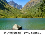 Dombai Mountains In The...