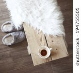 still life details  cup of... | Shutterstock . vector #194755505