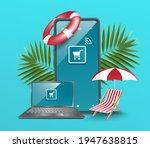 online sales templates via... | Shutterstock .eps vector #1947638815