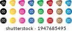 cash stack icon . web icon set ....