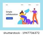 teamwork  co working  business...   Shutterstock .eps vector #1947736372