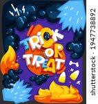 cartoon trick or treat... | Shutterstock .eps vector #1947738892