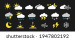 color weather icons set.... | Shutterstock .eps vector #1947802192
