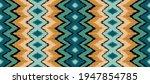 ikat border. geometric folk...   Shutterstock .eps vector #1947854785