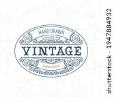 vintage style label... | Shutterstock .eps vector #1947884932