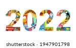 2022 new year travel... | Shutterstock .eps vector #1947901798