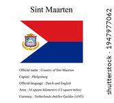 sint maarten national flag ...   Shutterstock .eps vector #1947977062