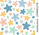 seamless vector pattern with... | Shutterstock .eps vector #1948001278