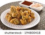 mix vegetable pakoras  an...   Shutterstock . vector #194800418