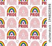pride pattern. a vector...   Shutterstock .eps vector #1948020898