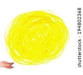 vector oil pastel hand drawn...   Shutterstock .eps vector #194802368