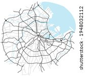 tokyo city map  japan    town... | Shutterstock .eps vector #1948032112