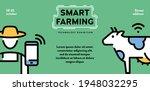 vector smart farming icon... | Shutterstock .eps vector #1948032295