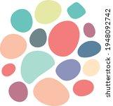 abstract circle random blotch... | Shutterstock .eps vector #1948092742