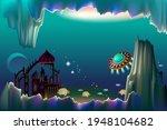 fantasy illustration of...   Shutterstock .eps vector #1948104682