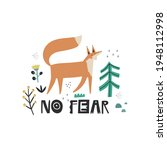 no fear hand drawn vector...   Shutterstock .eps vector #1948112998
