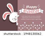 easter rabbit  easter bunny....   Shutterstock .eps vector #1948130062