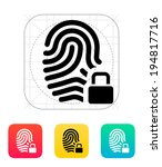 fingerprint and thumbprint with ...