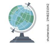 school globe vector flat... | Shutterstock .eps vector #1948231042