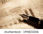 business data report. stock... | Shutterstock . vector #194823206