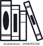 books notebooks reading list... | Shutterstock .eps vector #1948295158