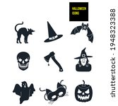 Halloween Icons   Stock...