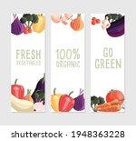 three vertical banner templates ... | Shutterstock .eps vector #1948363228