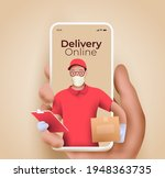 online delivery service or... | Shutterstock .eps vector #1948363735