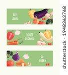 three horizontal banner... | Shutterstock .eps vector #1948363768