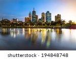 Melbourne City Waterfront Still ...