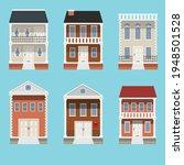 house collection. modern... | Shutterstock .eps vector #1948501528