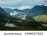 Atmospheric Alpine Landscape...