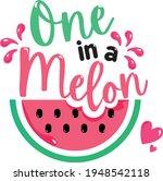 Colorful Watermelon Vector...