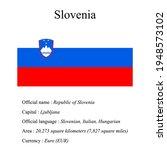 slovenia national flag  country'...   Shutterstock .eps vector #1948573102